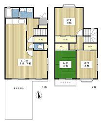 [テラスハウス] 神奈川県横浜市都筑区北山田4丁目 の賃貸【/】の間取り