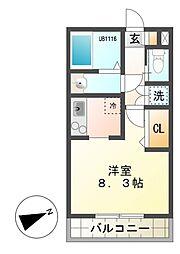 CIS宮下町I[1階]の間取り