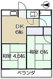 第2サクラハイツ[1階]の間取り
