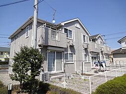 埼玉県北葛飾郡松伏町ゆめみ野2丁目の賃貸アパートの外観