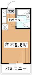 小平MIハイツ[3階]の間取り