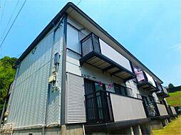 東京都八王子市中山の賃貸アパートの外観