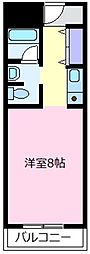 天美ハイツ[2階]の間取り