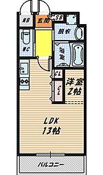 DiasII[10階]の間取り