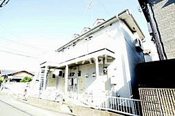 東京都日野市大字川辺堀之内の賃貸アパートの外観