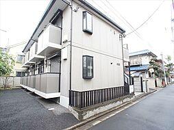 東京都練馬区富士見台3丁目の賃貸アパートの外観