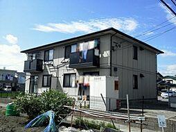 愛知県岡崎市土井町字藤ノ木乙の賃貸アパートの外観