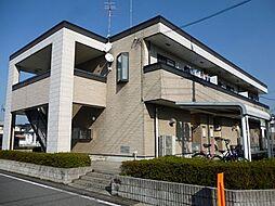 茨城県下妻市本宿町2丁目の賃貸アパートの外観