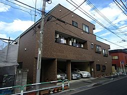 東京都北区東十条5丁目の賃貸アパートの外観