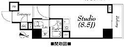 フィールA渋谷[4階]の間取り
