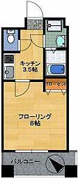 ブライトハイム[5階]の間取り