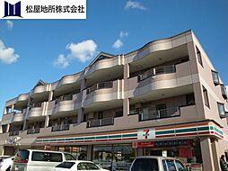 愛知県豊橋市下地町字操穴の賃貸マンションの外観