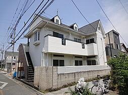 埼玉県春日部市粕壁東6丁目の賃貸アパートの外観