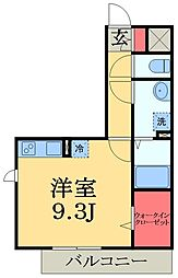 千葉県市原市更級1丁目の賃貸アパートの間取り