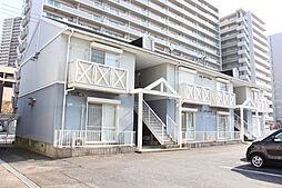 滋賀県栗東市綣3丁目の賃貸アパートの外観