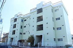 愛知県岡崎市若松町字向山の賃貸アパートの外観