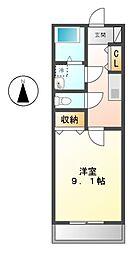 NOBLEII[1階]の間取り