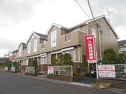 埼玉県三郷市早稲田8の賃貸アパートの外観