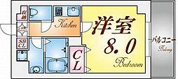 リアライズ神戸WEST[3階]の間取り
