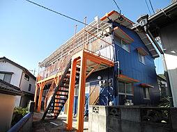 長崎県長崎市青山町の賃貸アパートの外観