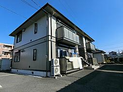 栃木県下野市上古山の賃貸アパートの外観