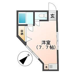 アトリアコート[2階]の間取り