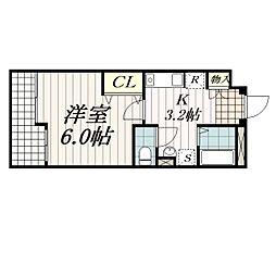 ASTREA東千葉[1階]の間取り