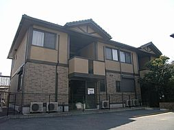 大阪府豊中市長興寺南1丁目の賃貸アパートの外観