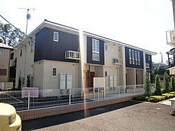 埼玉県所沢市北中3丁目の賃貸アパートの外観