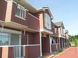 茨城県下妻市坂本新田の賃貸アパートの外観