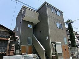 東京都練馬区中村南2丁目の賃貸アパートの外観