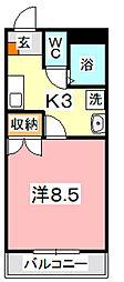 レジデンス高蔵[305号室]の間取り