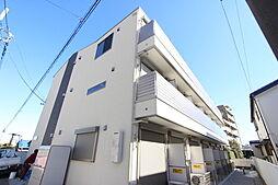 千葉県柏市あけぼの5の賃貸アパートの外観