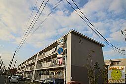 ニッケノーブルハイツ北方[1階]の外観