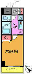 S−FORT舞浜[201号室]の間取り