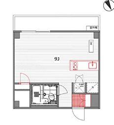 インペリアル六本木1号館[2階]の間取り