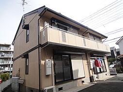 埼玉県吉川市高富1の賃貸アパートの外観