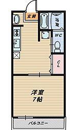 メゾン丸山II[1階]の間取り
