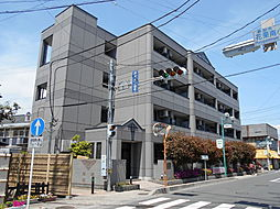 埼玉県草加市花栗4丁目の賃貸マンションの外観