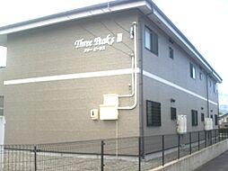 長野県伊那市美篶の賃貸アパートの外観