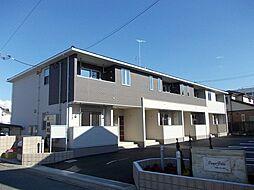 埼玉県越谷市花田5丁目の賃貸アパートの外観