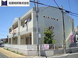 愛知県豊橋市東橋良町の賃貸アパートの外観