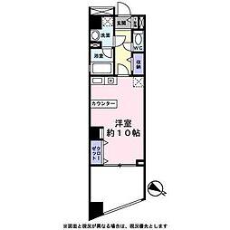 東京都港区白金2丁目の賃貸マンションの間取り