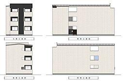 Villetta三国ヶ丘[3階]の外観