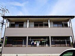 栃木県小山市犬塚6丁目の賃貸アパートの外観