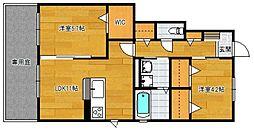 小郡新築アパート B棟[103号室]の間取り