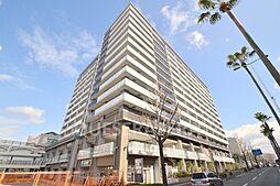 大阪府吹田市津雲台1丁目の賃貸マンションの外観