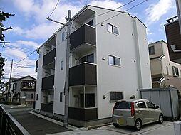東京都葛飾区鎌倉2の賃貸アパートの外観
