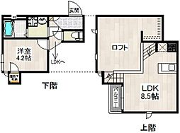 CB箱崎リヨン[1階]の間取り