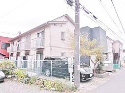 神奈川県大和市上草柳6の賃貸アパートの外観